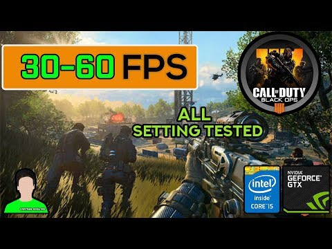 Call of Duty  Black Ops 4 | GTX 950M + i5-6300HQ