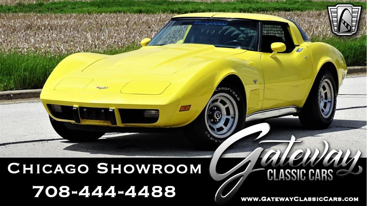 1979 Chevrolet Corvette - Gateway Classic Cars #1587 Chicago