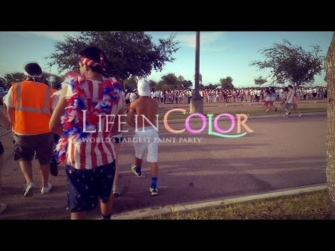 Life In Color 2014 - Hidalgo, Tx - 07/04/14 - Cash Cash, Borgore, Afrojack