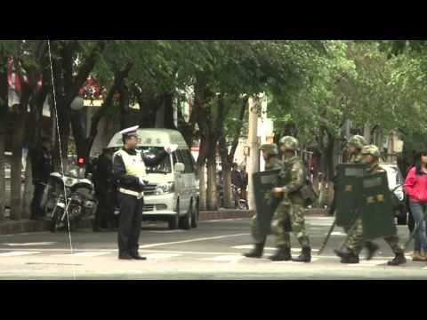 Chinese State Media Says Five Suicide Bombers Carried Out Xinjiang Attack MUST SEE