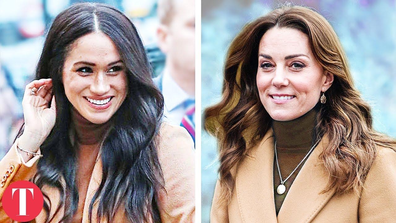 10 Times Kate Middleton Copied Meghan Markle's Fashion
