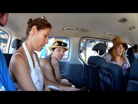 Fiji taxi  trip