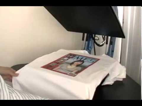 "AnaJet Direct to garment Printer ""dtg"" - t shirt / t-shirt photo printing - Photoshirts™"