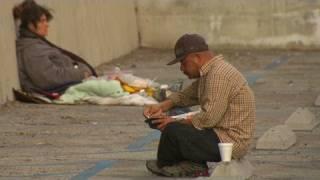 Serial killer targets homeless men