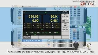 видео Электронные программированные нагрузки постоянного и переменного тока