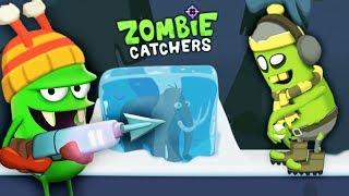 ОХОТА НА ПЛЯЖНОГО ЗОМБИ БОССА и НОВЫЕ ПРОДУКТЫ Мульт игра для детей Zombie Catchers