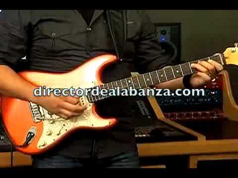 Tutorial Derrama de tu fuego Guitarra Elctrica (Roberto Prado)