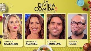 La Divina Comida - Gissella Gallardo, Monserrat Álvarez, Cristian Riquelme y Lalo Ibeas