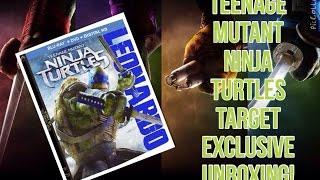 teenage mutant ninja turtles 2014 target exclusive unboxing