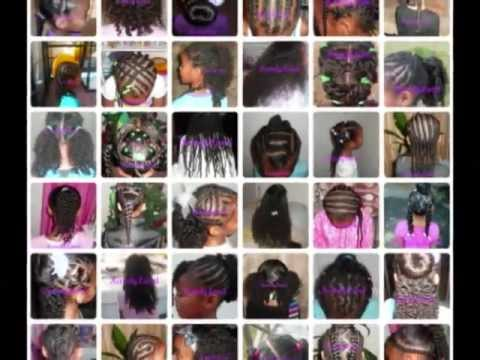 children s natural hair styles part 4 youtube