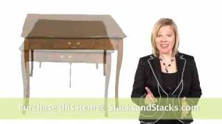 Extendable Table By Stakmore At Stacks And Stacks
