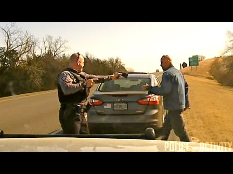 Raw Dashcam Video: Oklahoma High Speed Chase Ends In Crash
