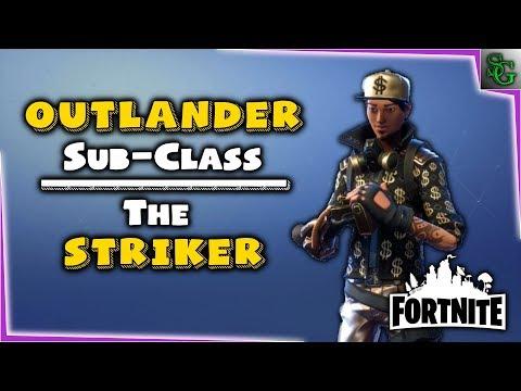 Fortnite - Hero Overview - Striker A.C. (Outlander)