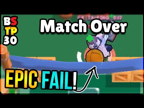 Too Busy SPINNING to SCORE - Oops! Brawl Stars Top Play Review #30
