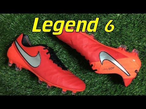 Nike Tiempo Legend 6 Light Crimson (Metal Flash Pack) - Review + On Feet