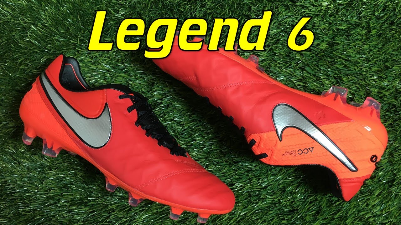 new arrival 5aa3d 132e4 ... germany nike tiempo legend 6 light crimson metal flash pack review on  feet youtube a1865 7a460