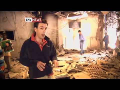 Sat May21,11 Huda BenAmer Office , Ministry of anticorruption. Mark Stone, Sky News reporter Tripoli