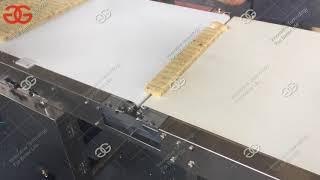 Groundnut Chikki Cutting Machine Video