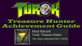 turok dinosaur hunter secret areas treasure hunter achievement guide