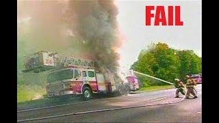 Firefighter Fail Compilation | FUNNY Firefighter Fails