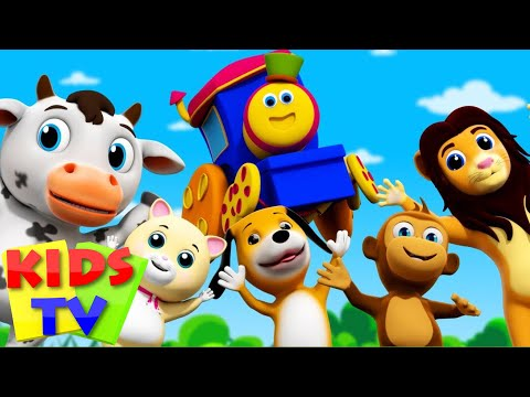 Bob The Train | If You Are Happy And You Know It | Popular Nursery Rhymes From Kids TV