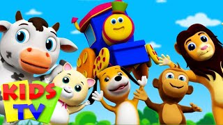 Bob, The Train | If You Are Happy And You Know It | Popular Nursery Rhymes From Kids TV