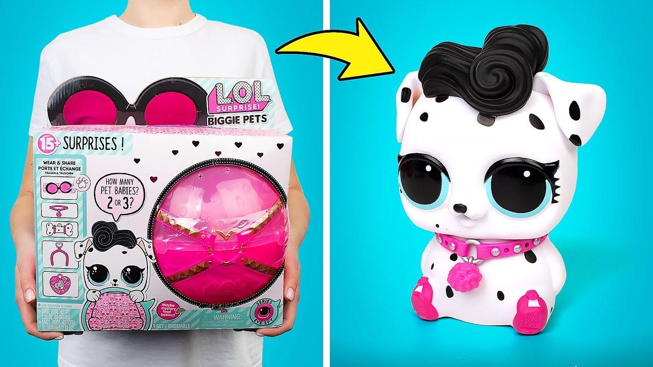 فتح دمى L.O.L. Surprise Biggie Pets | مع 15 مفاجأة في الداخل!