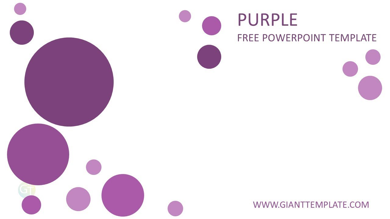 powerpoint templates free download violet image