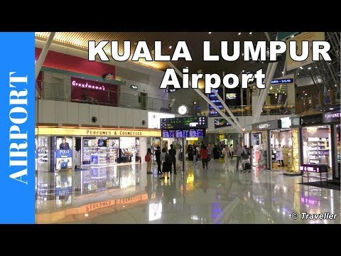 KUALA LUMPUR INTERNATIONAL AIRPORT - Satellite Terminal  - Transfer to connection flight - KLIA