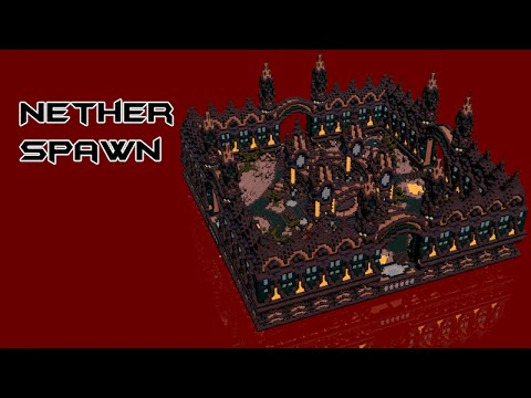 Nether Builds Minecraft Schematica