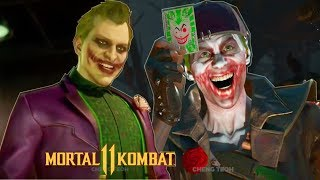 Mortal Kombat 11 - Joker Gets Roasted By Cassie Cage & A Possible Joker Victory Outro