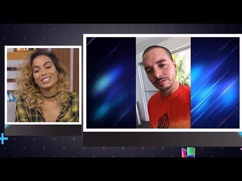 LEGENDADO J Balvin emociona Anitta fala de marido e carreira - El Gordo y La Flaca