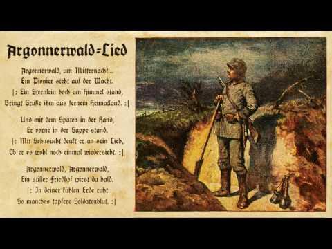 Argonnerwaldlied   /   Im Argonnenwald   /   Lied der Pioniere