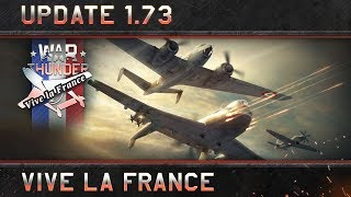 Gambar cover War Thunder: Update 1.73 'Vive la France'