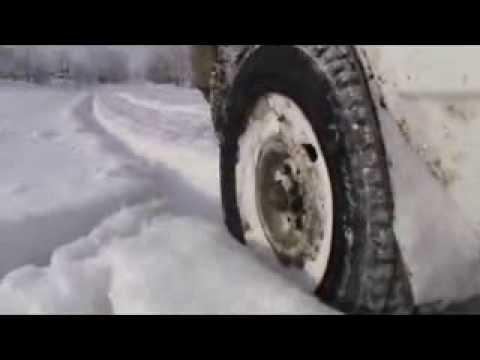 видео: Проходимость ВАЗ 2109 в глубоком снегу