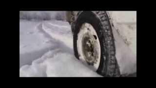 Прохідність ВАЗ 2109 в глибокому снігу