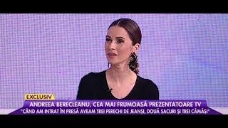 """Andreea Berecleanu: """"Când am intrat în presă aveam trei perechi de jeanși, două sacouri"""""""