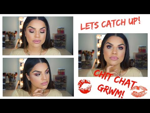 Chit Chat GRWM: Living in the East Coast, Weight Loss, Vegan? Etc...