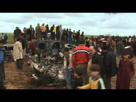 Libyan civilians injured in US pilot rescue