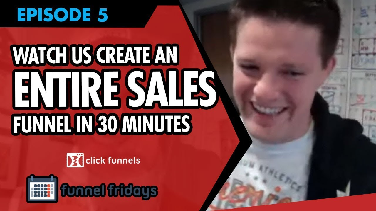 Watch us Create An ENTIRE Sales Funnel For The Human Charger In Less Than 30 Minutes