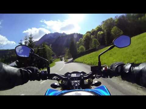 Balade Moto Col Des Aravis (Haute Savoie, Savoie)