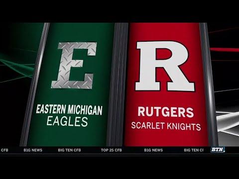 Eastern Michigan at Rutgers - Football Highlights