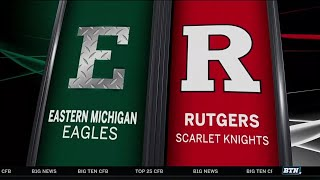 Eastern Michigan at Rutgers - Football Highlights