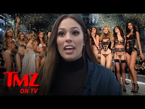 Ashley Graham Wants To Rep Victoria's Secret On The Runway | TMZ TV