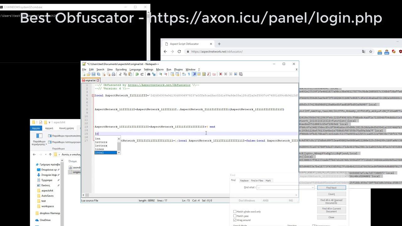 Lua Encryptor | Lua CE Obfuscator by WolfDust HD