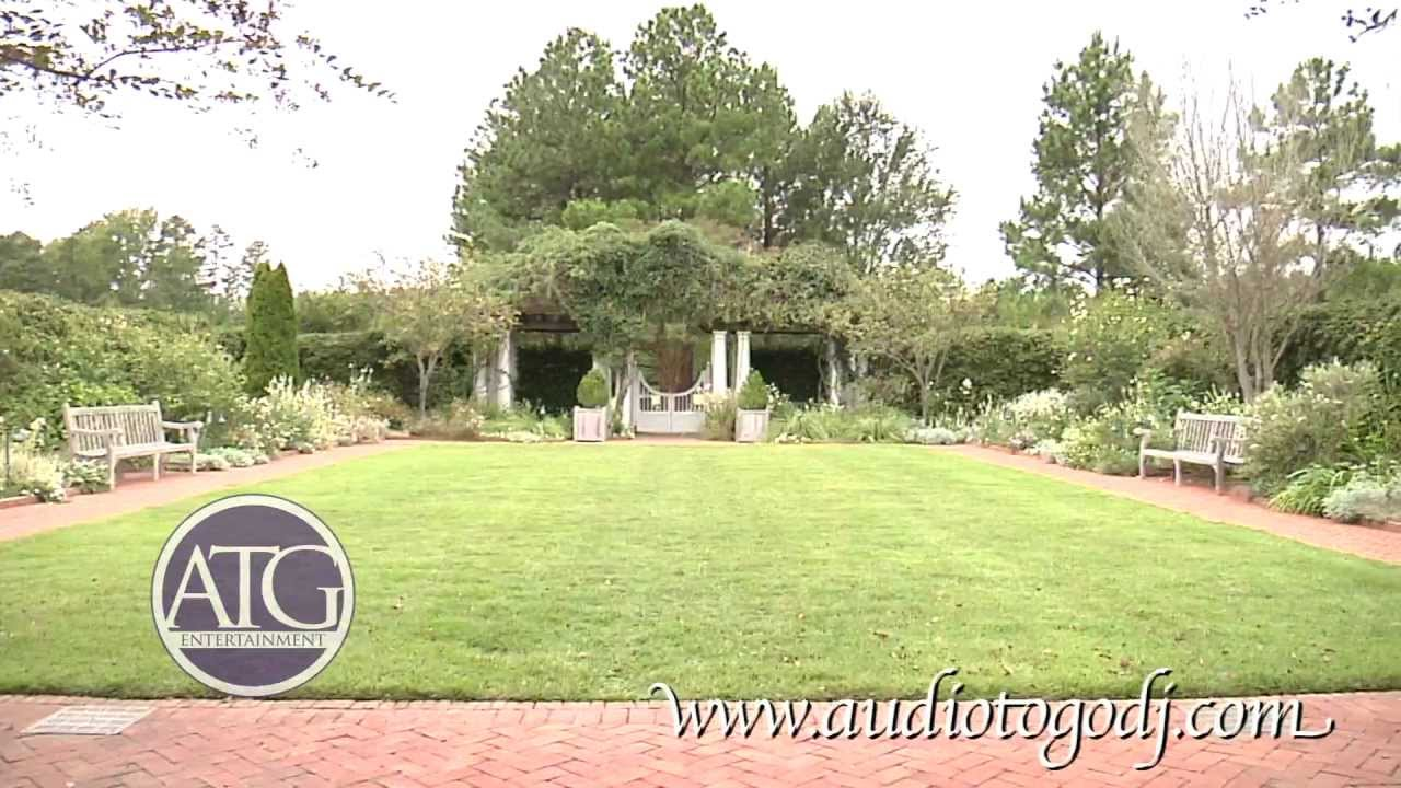 Daniel Stowe Botanical Garden   Wedding Venue Belmont, NC   YouTube