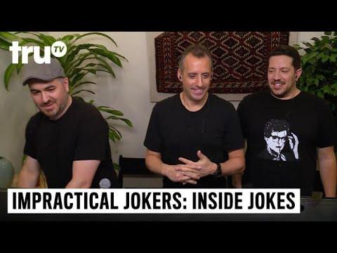 Impractical Jokers: Inside Jokes - Murr's Ghost Typers   truTV