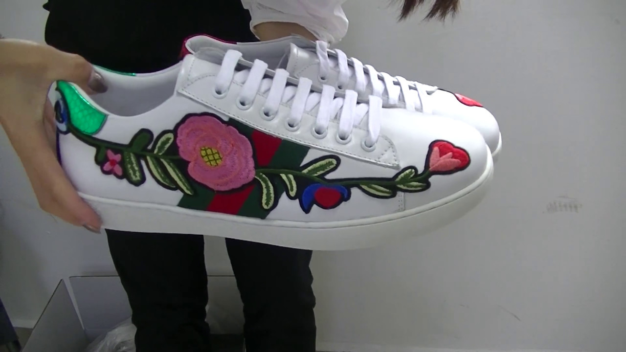 81c652562e8 Gucci Ace embroidered low-top sneaker Unboxing   Review CurtisDonDeano