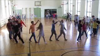 Rahvusvaheline tantsupäev 2019 -  Hagudi Põhikooli I - IV klass