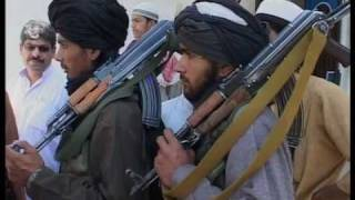 Taliban fighters patrol streets of Buner in Pakistan